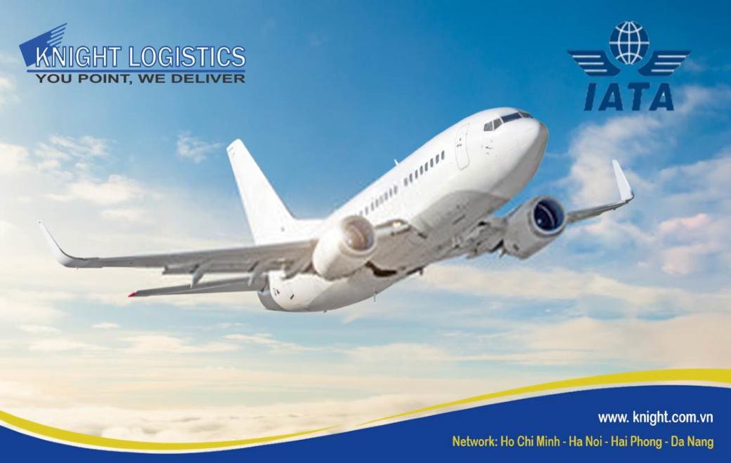 KNIGHT LOGISTICS GIA NHẬP HIỆP HỘI VẬN TẢI HÀNG KHÔNG QUỐC TẾ (IATA)