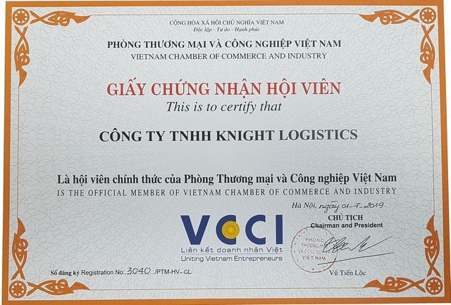 VIETNAM CHAMBER OF COMMERCE AND INDUSTRY (VCCI)