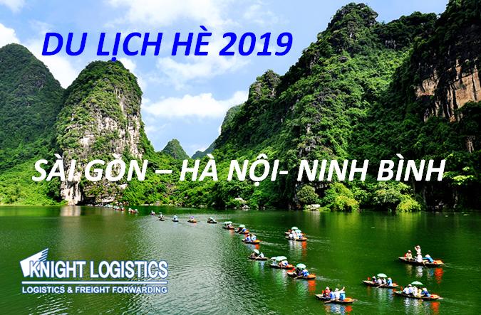 DU LỊCH HÈ 2019 - SÀI GÒN - HÀ NỘI - NINH BÌNH